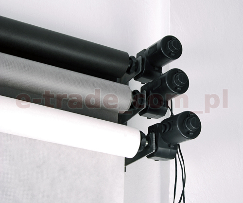 3 Roller Electric Motorized Photographic Backdrop