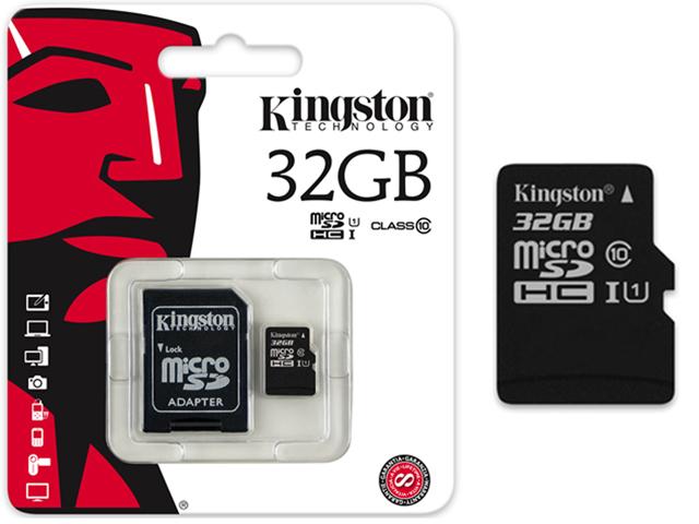 kingston microsd speicherkarte 32gb class 10 30mb s. Black Bedroom Furniture Sets. Home Design Ideas
