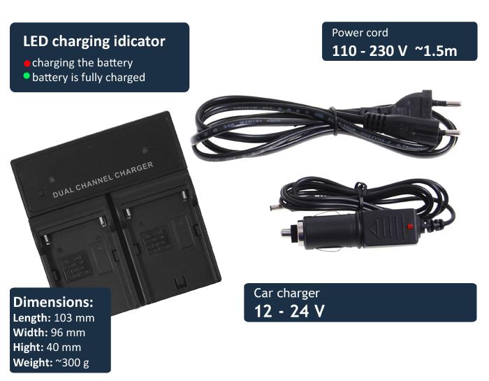 batería np-fw50 fw70 fw100 para Sony nex-3k Cargador F