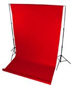 tło fotograficzne na tulejce czerwone
