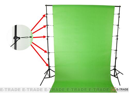 4pcs  Background Support Clip Holder Muslin Clamp Screen Studio Backdrop //KSB