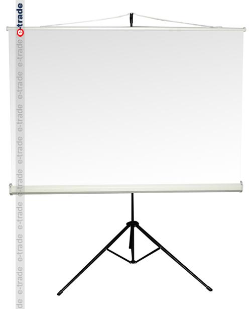 rollo leinwand reflecta 150 x 150 cm tv beamer st nder ebay. Black Bedroom Furniture Sets. Home Design Ideas